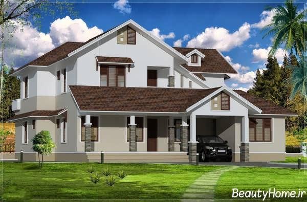 ایده آل ترین نمونه های سقف های شیب دار