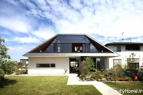 سقف های شیب دار با طراحی های مختلف