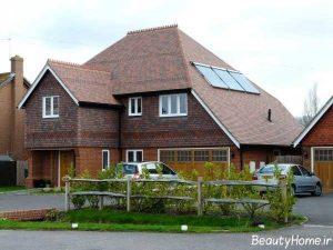 سقف شیب دار با طراحی بی نظیر