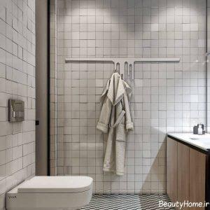 سرویس بهداشتی در درون خانه ای کوچک
