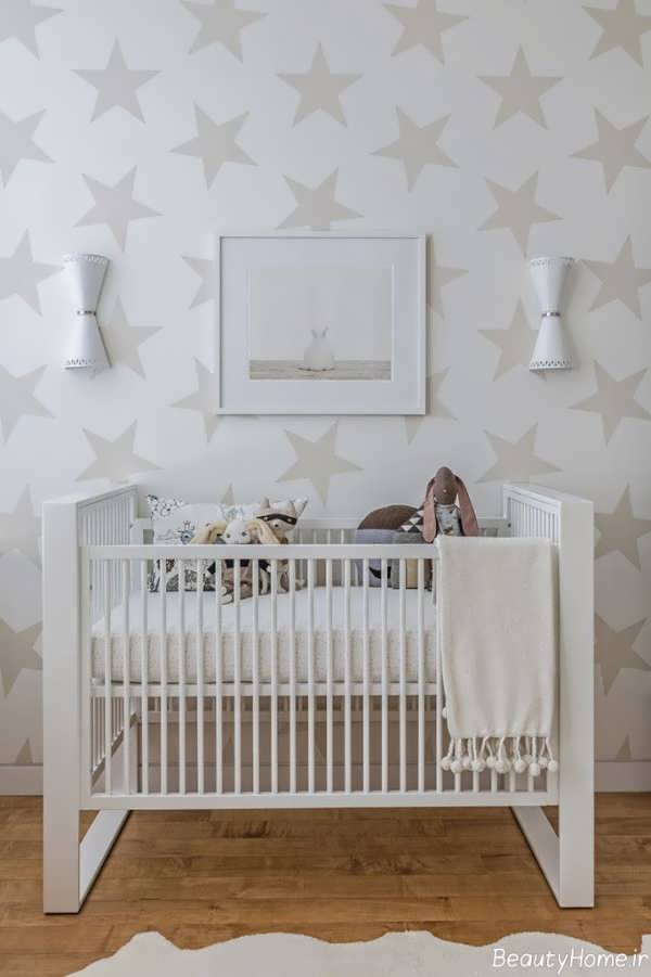 کاغذ دیواری با طرح ستاره