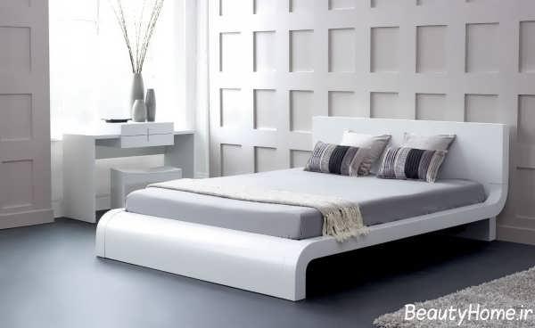 مدل تخت خواب زیبا برای عروس