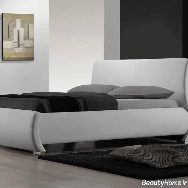 تخت خواب زیبا عروس