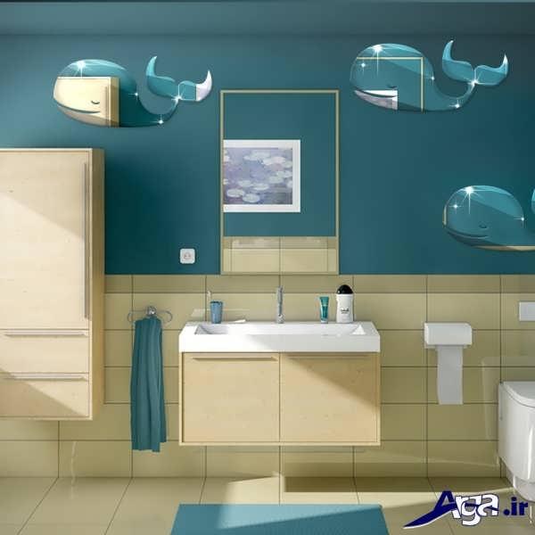 دکوراسیون زیبا و متفاوت برای سرویس بهداشتی