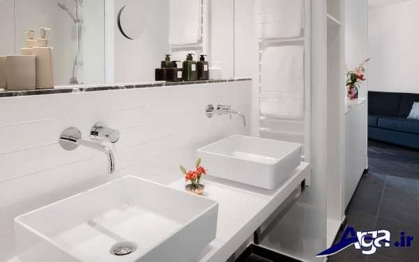 زیباترین نمونه های دکوراسیون داخلی سرویس بهداشتی منازل لوکس