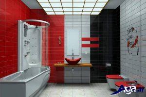 طراحی دکوراسیون داخلی حمام و سرویس بهداشتی