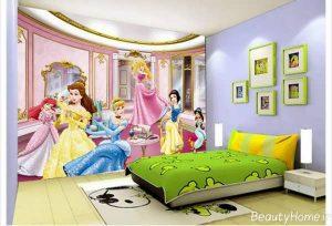 طراحی اتاق کودک دختر با روش های جالب