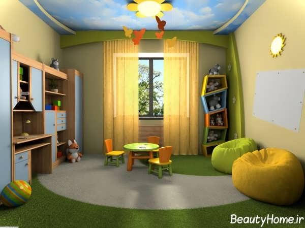دیزاین دکوراسیون اتاق کودک