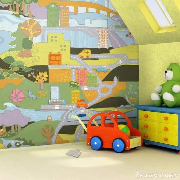 طراحی اتاق برای کودک پسر