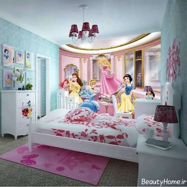 طراحی اتاق کودک دختر با روش های متفاوت