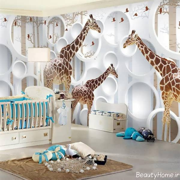 طراحی اتاق کودک با ایده های جالب و زیبا (23 طرح