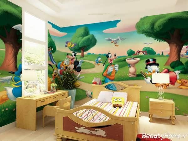 زیباترین طراحی ها برای دکوراسیون اتاق کودک