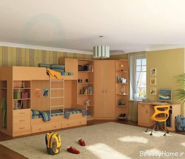 طراحی زیبا دکوراسیون اتاق کودک