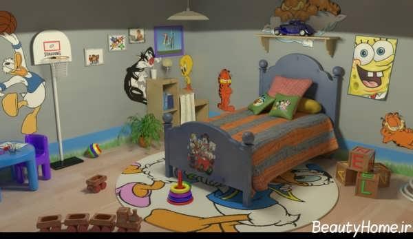 زیباترین طراحی های داخلی اتاق کودک