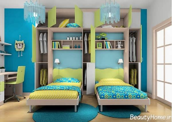 طراحی دکوراسیون داخلی اتاق کودک