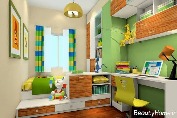 دیزاین اتاق برای کودکان