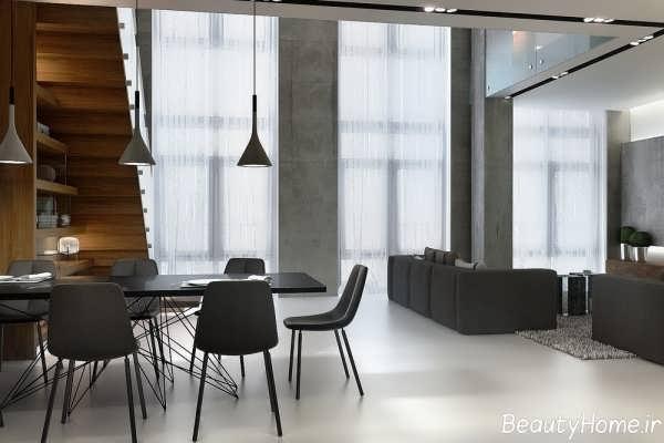 معماری داخلی در خانه های دوبلکس