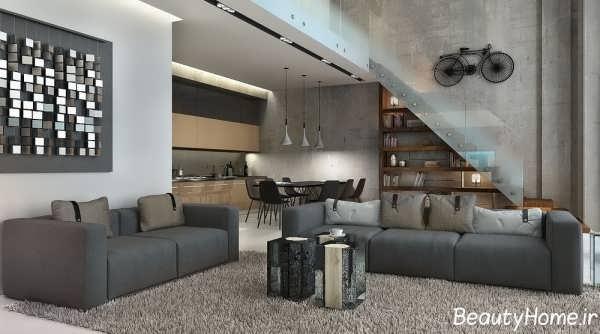 طراحی های زیبا برای خانه های دوبلکس