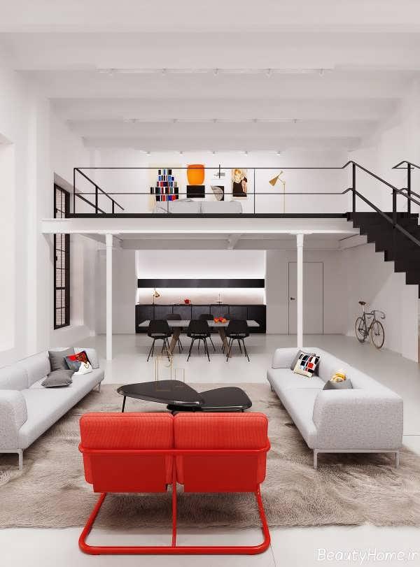 خانه های دوبلکس با طراحی های داخلی زیبا