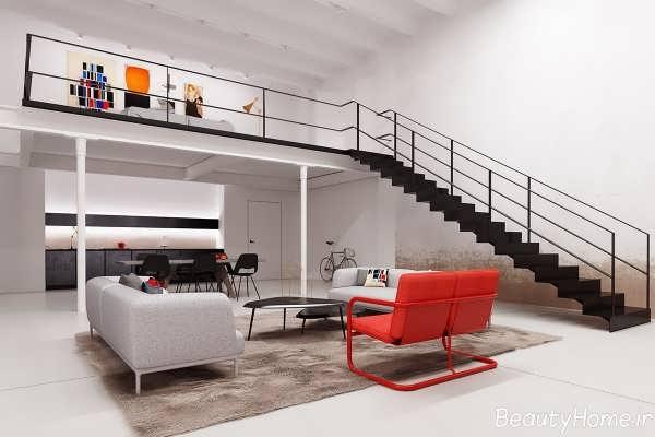 طراحی های داخلی مدرن برای خانه های دوبلکس