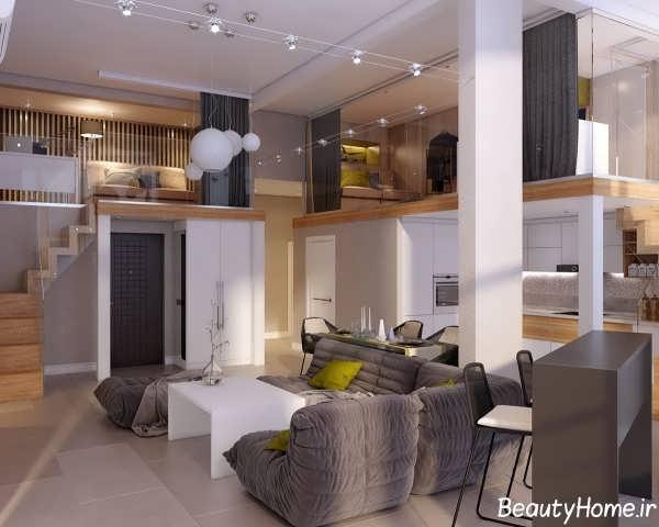 انواع طراحی های مدرن برای خانه های دوبلکس