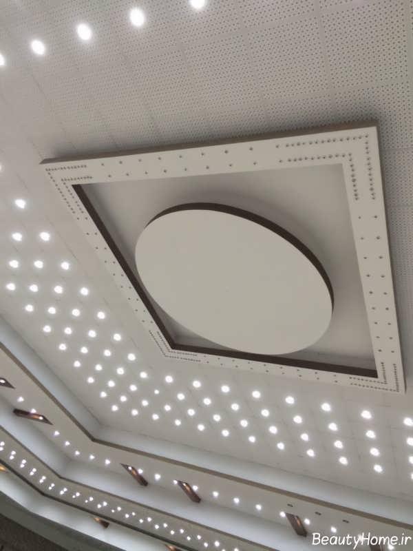 نورپردازی و نمونه های طراحی کناف