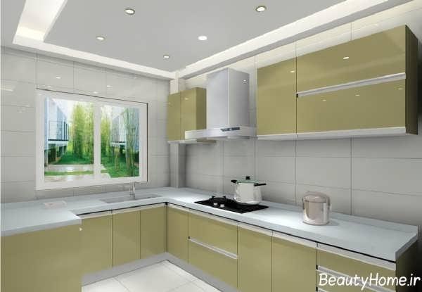 کناف سقف آشپزخانه با طرح های موفق و بی نظیر