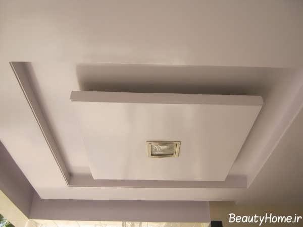 کناف سقف با طراحی بی نظیر و متفاوت
