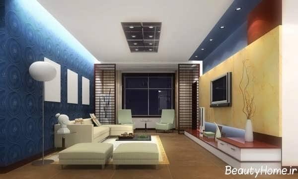 انواع طراحی ها برای اتاق پذیرایی