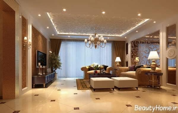 طراحی اتاق پذیرایی با روش های مدرن و متفاوت