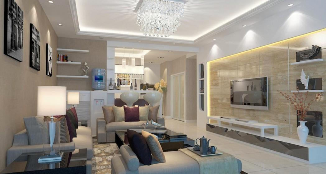 طراحی اتاق پذیرایی مدرن و زیبا