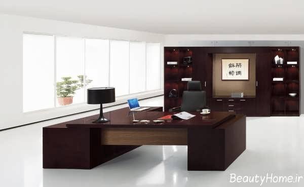 مدل های میز مدیریت با طراحی های کلاسیک