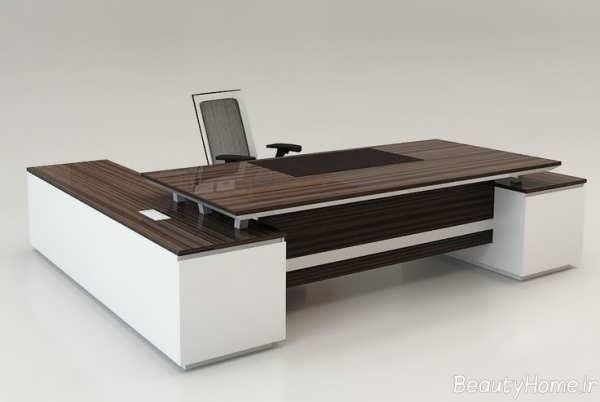 میز مدیریت ام دف با طراحی مدرن