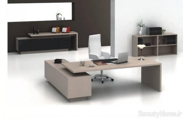 میز های مدیریت مدرن و لوکس