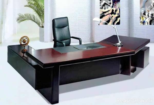 میز ام دی دف و چوبی برای مدیریت