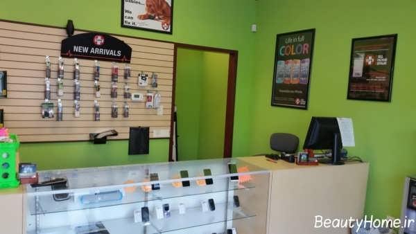 دکوراسیون فروشگاه موبایل
