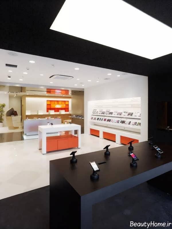 دکوراسیون داخلی شیک برای مغازه های موبایل فروشی