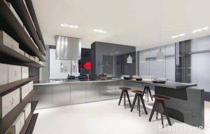 دکوراسیون داخلی آشپزخانه های مدرن اروپایی