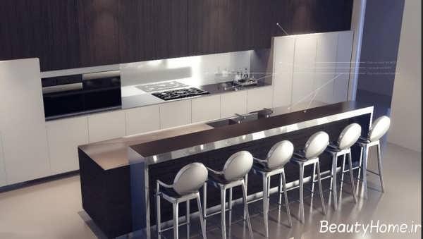 طراحی دکوراسیون آشپزخانه های لوکس و مدرن