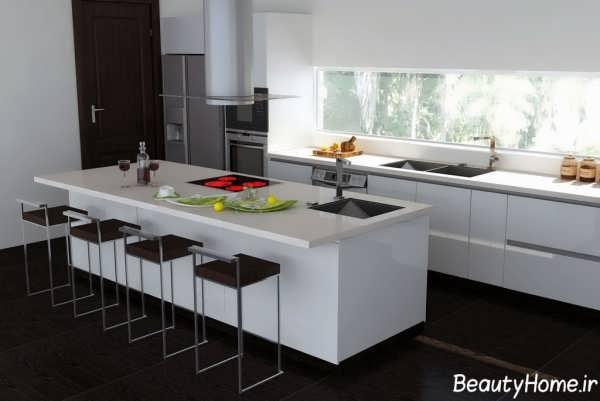 دکوراسیون مدرن برای آشپزخانه