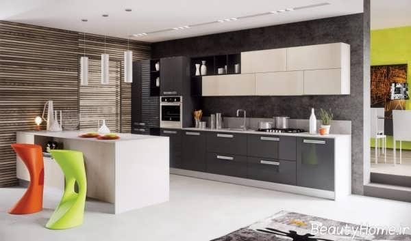زیباترین نمونه های دکوراسیون آشپزخانه های مدرن