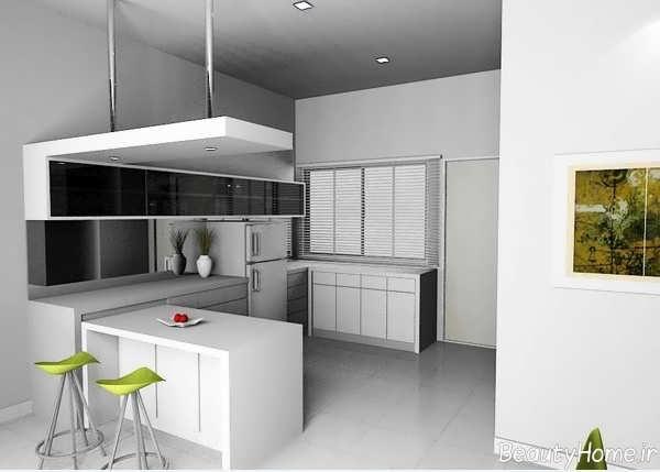 انواع طراحی های مدرن برای آشپزخانه به سبک مینیمال