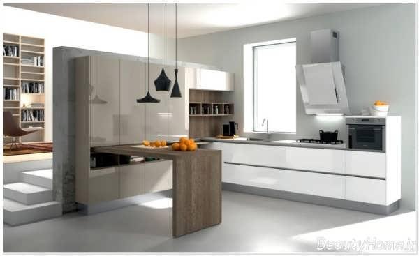 دکوراسیون آشپزخانه های مدرن با سبک مینیمال
