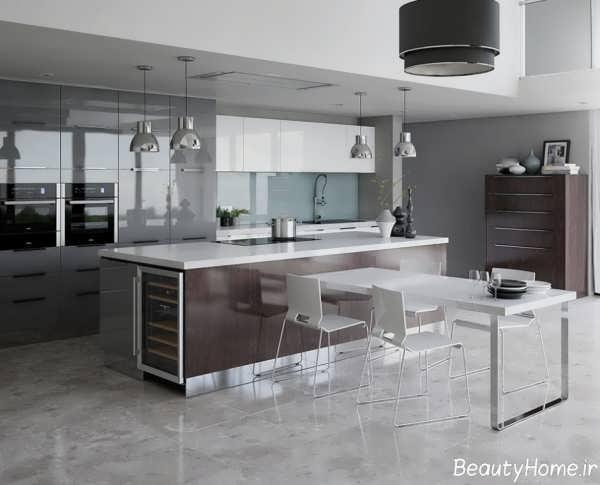 زیباترین نمونه های دکوراسیون داخلی برای آشپزخانه