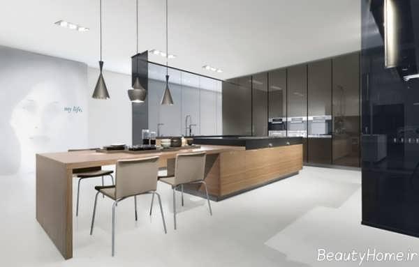 طراحی دکوراسیون داخلی برای آشپزخانه های مدرن