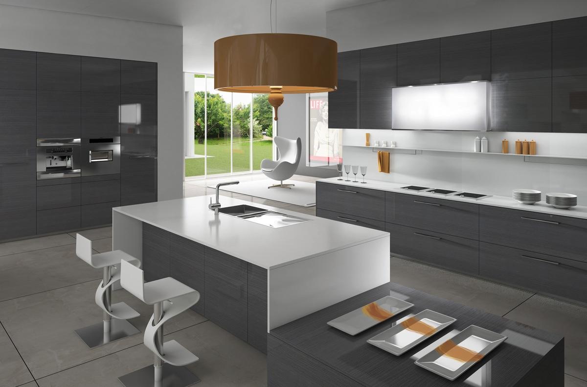 دکوراسیون آشپزخانه های مدرن اروپایی
