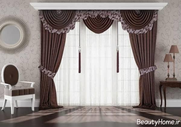 پرده های سلطنتی با طراحی های زیبا
