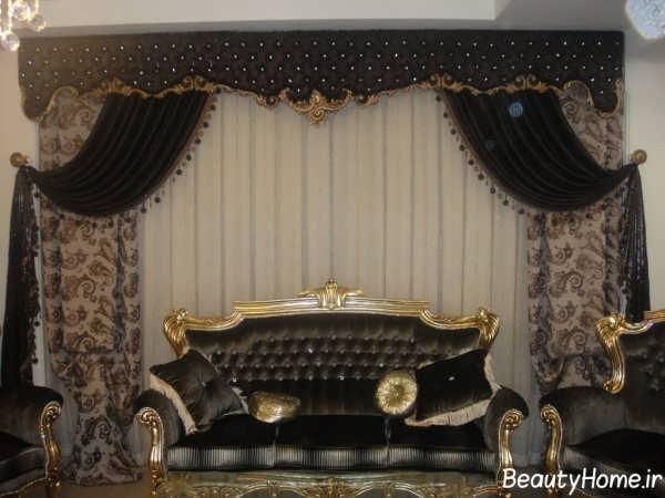 مدل پرده سلطنتی زیبا