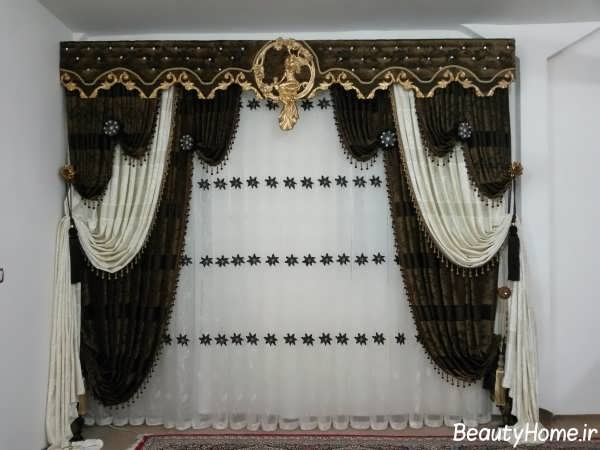 مدل پرده سلطنتی شیک و زیبا