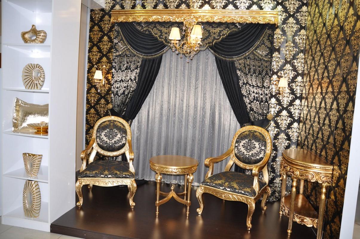 مدل پرده های سلطنتی مخصوص خانه های پذیرایی